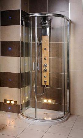 Exclusive Bathrooms, UK: This D Shape Shower Enclosure makes ...